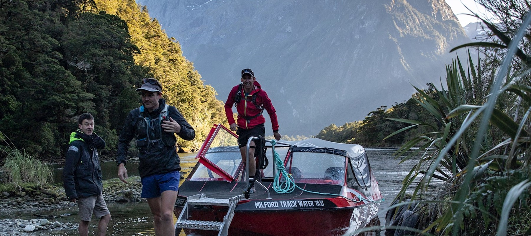Milford Track Transport Fiordland Outdoors